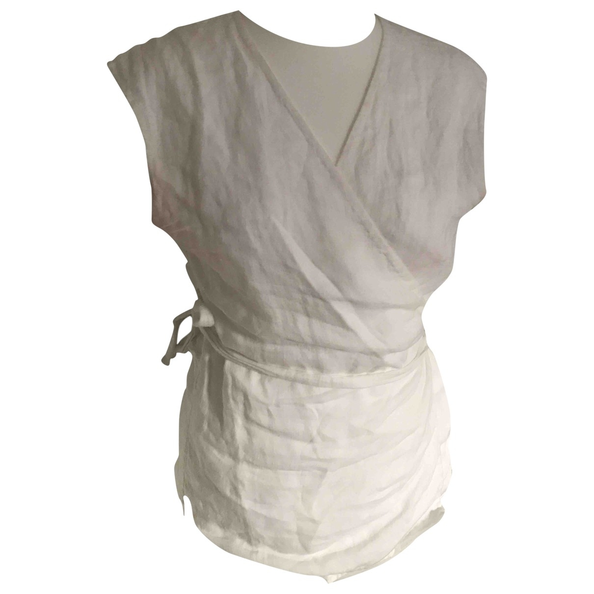 Theory \N White Linen  top for Women M International