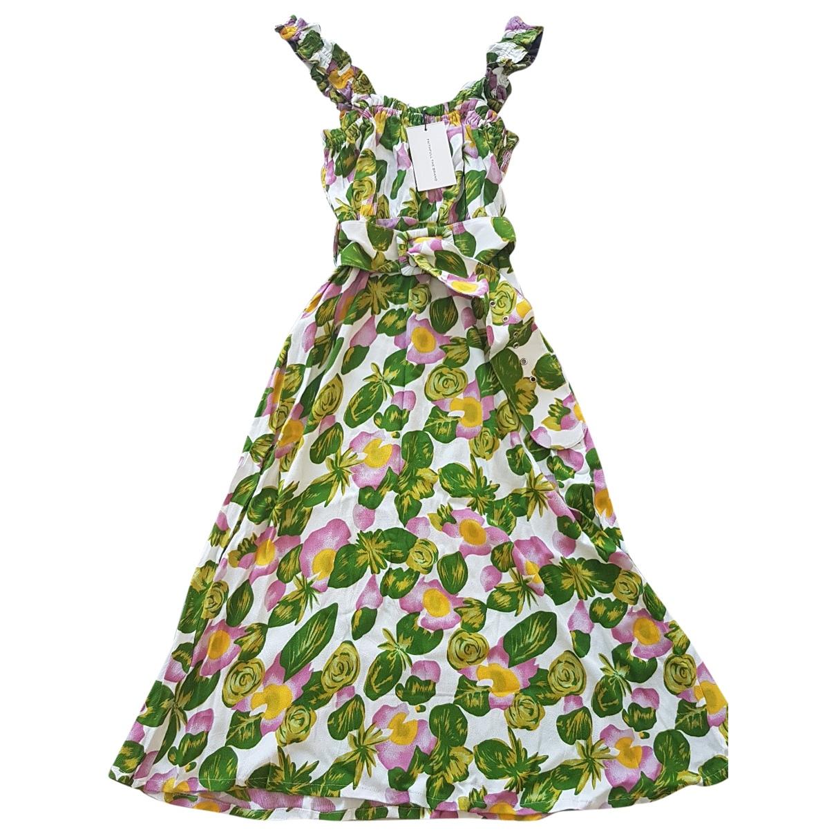 Faithfull The Brand - Robe   pour femme - turquoise