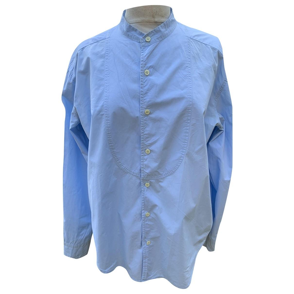 Zadig & Voltaire - Chemises   pour homme en coton - bleu