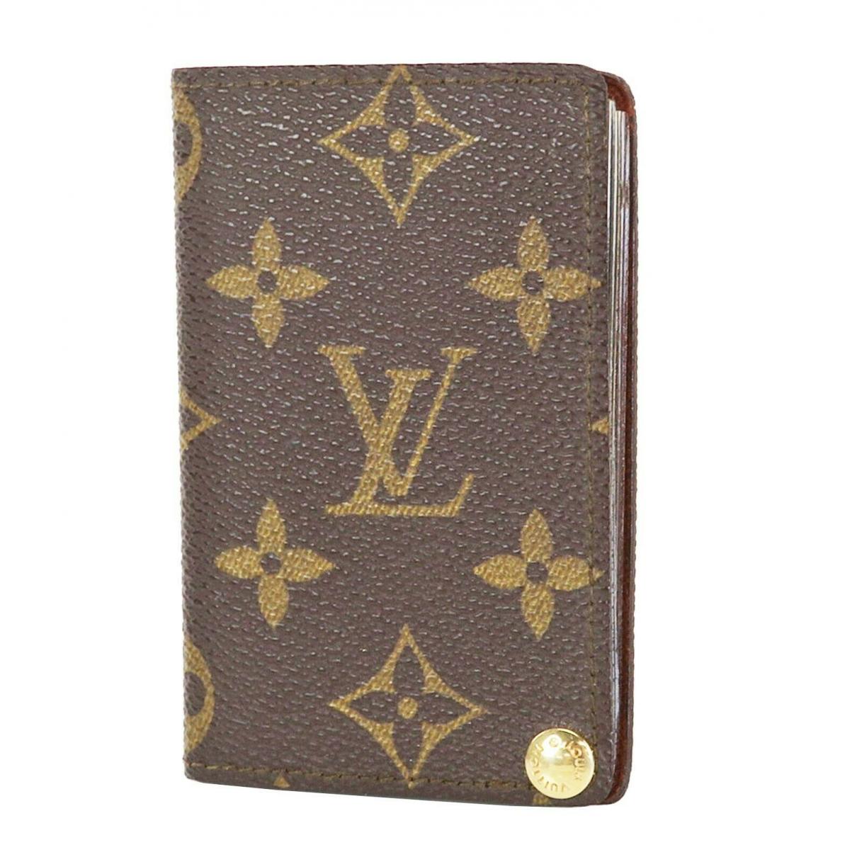 Louis Vuitton \N Kleinlederwaren in Leder