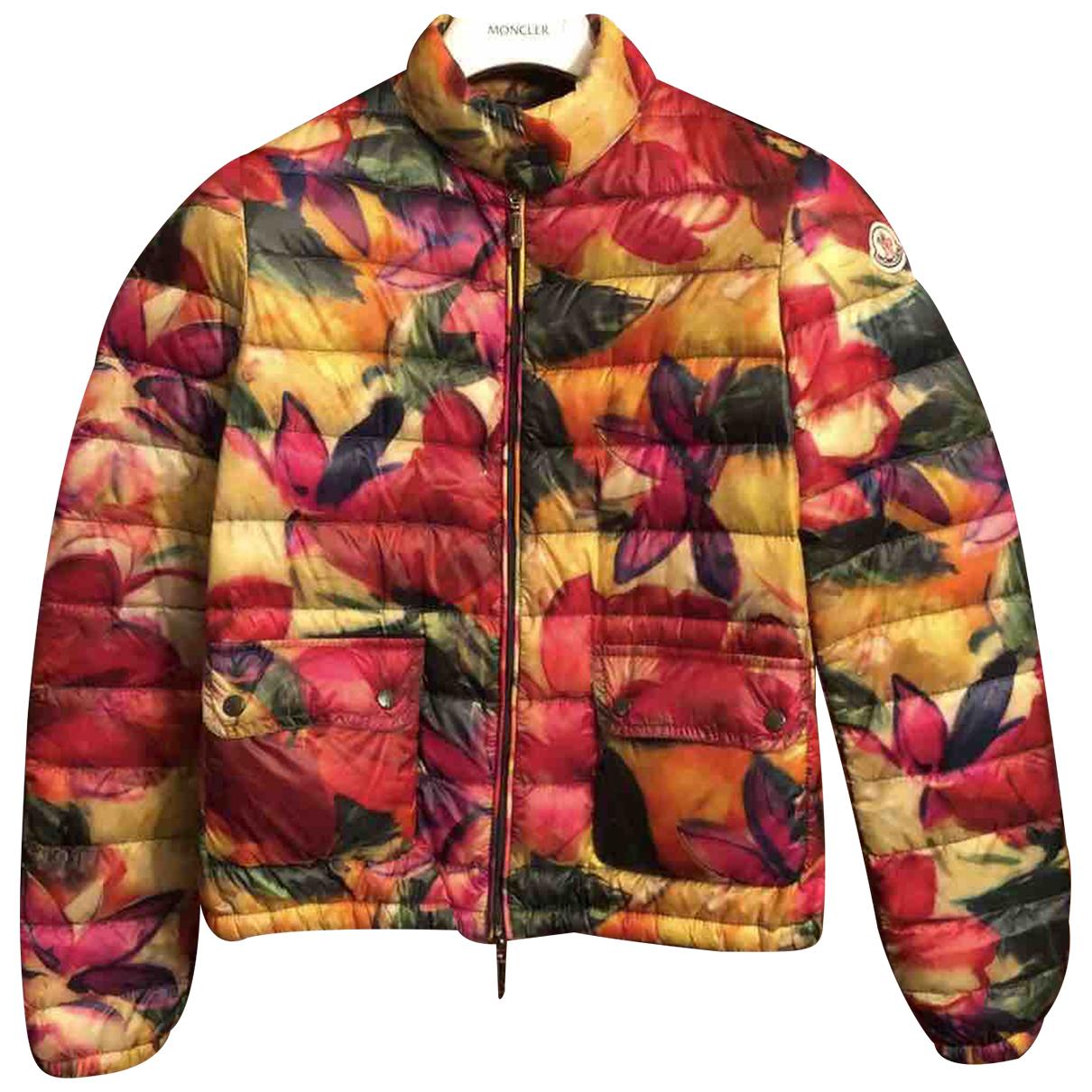 Moncler - Manteau   pour femme - multicolore