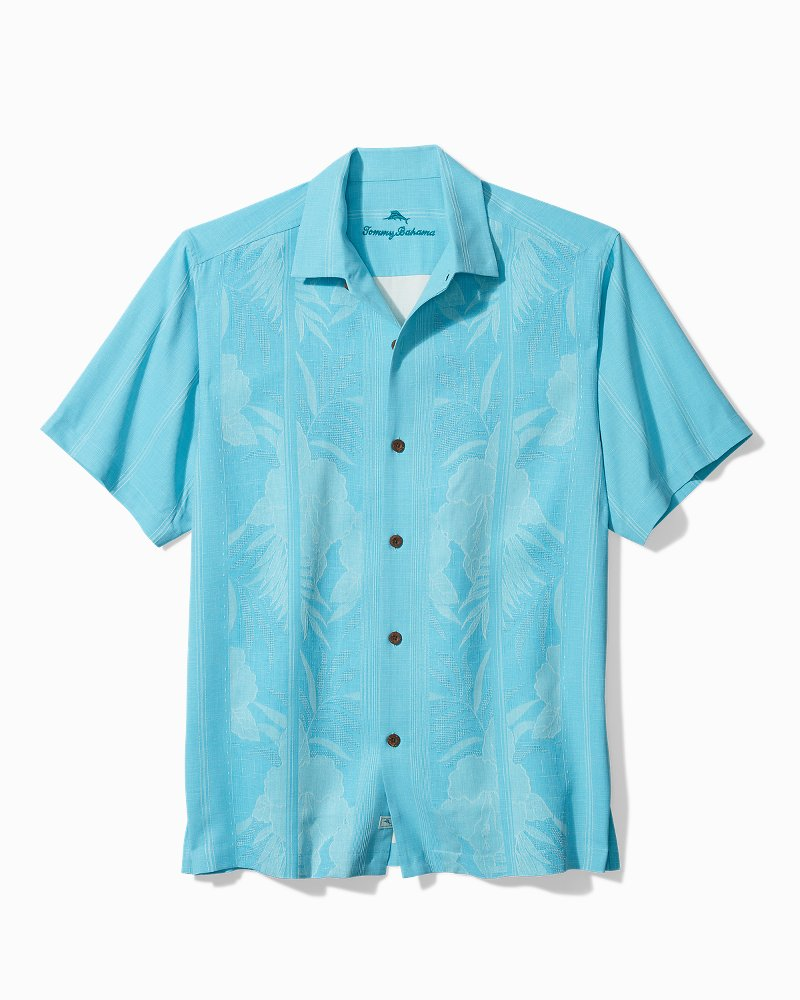 Big & Tall Tahitian Border Camp Shirt