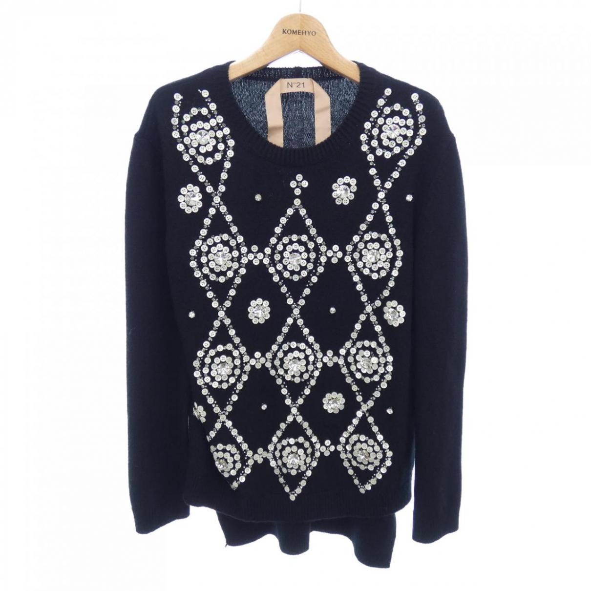 N°21 \N Pullover in  Schwarz Wolle