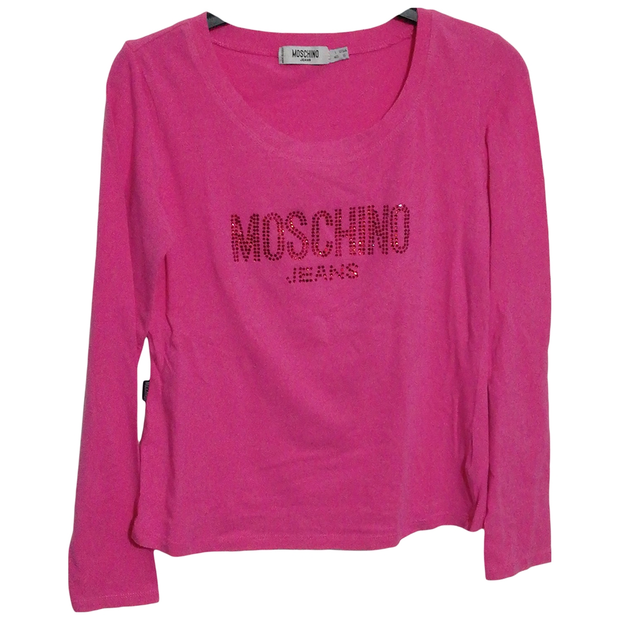 Moschino Cheap And Chic \N Pullover in  Rosa Baumwolle