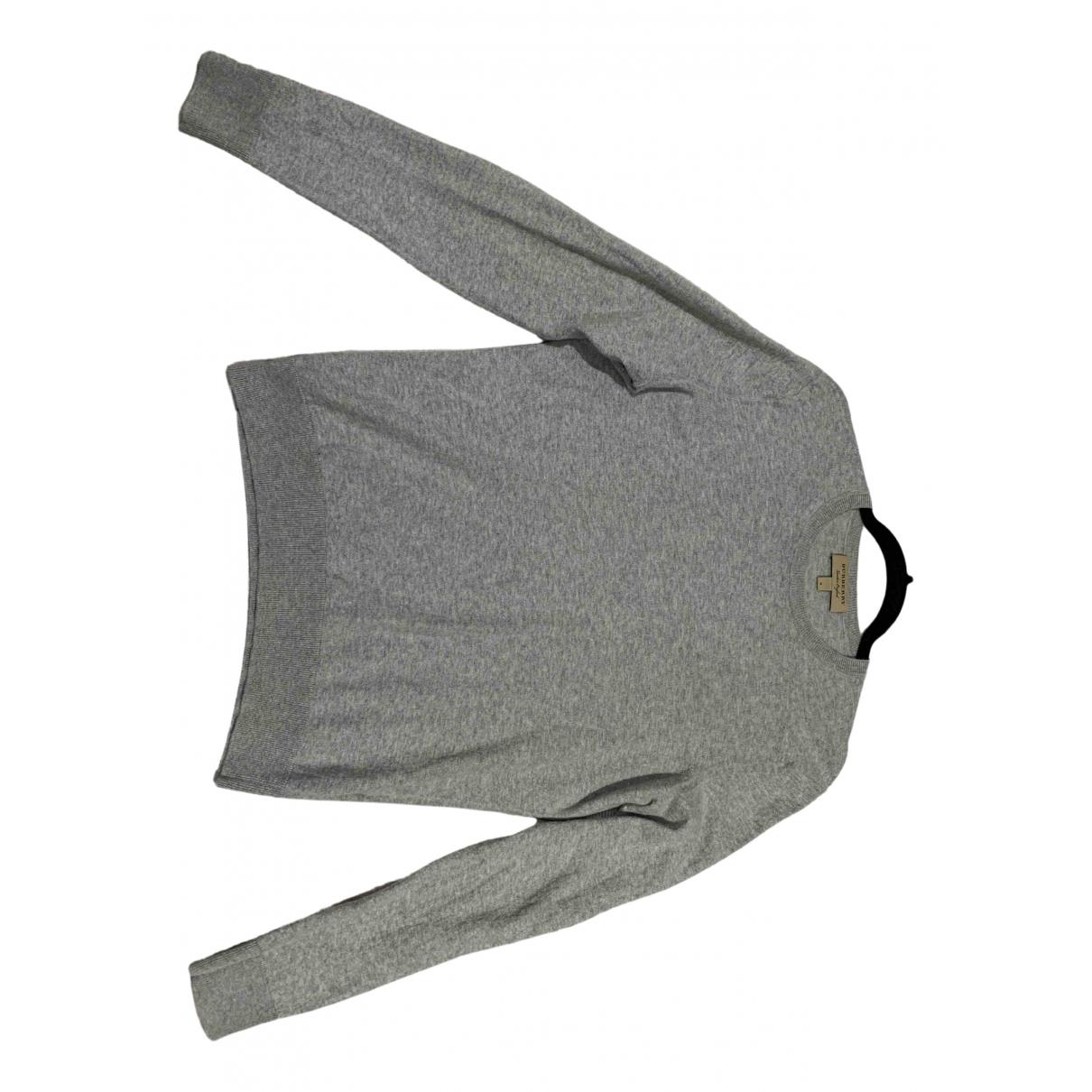 Burberry \N Pullover.Westen.Sweatshirts  in  Grau Kaschmir