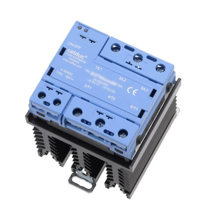 Celduc Solid State Relay, Zero Cross, DIN Rail