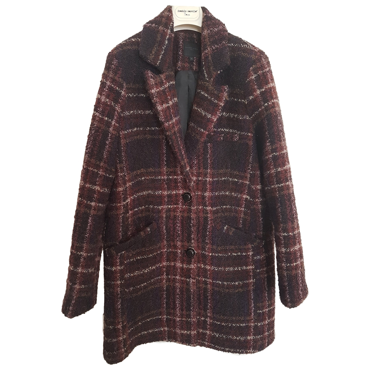 Non Signé / Unsigned \N Purple Wool jacket for Women M International
