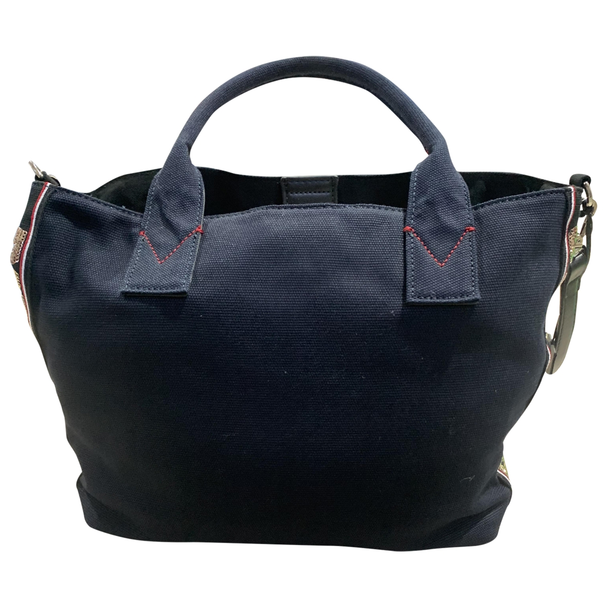 Pinko \N Handtasche in  Blau Baumwolle