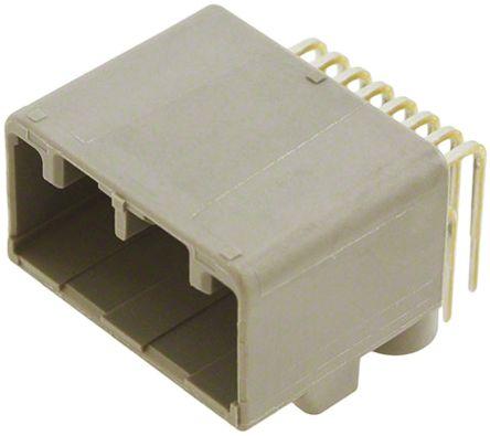 JAE , MX34, 12 Way, 2 Row, Right Angle PCB Header