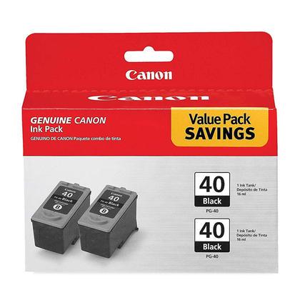 Canon PG40 cartouche dencre originale noire paquet double