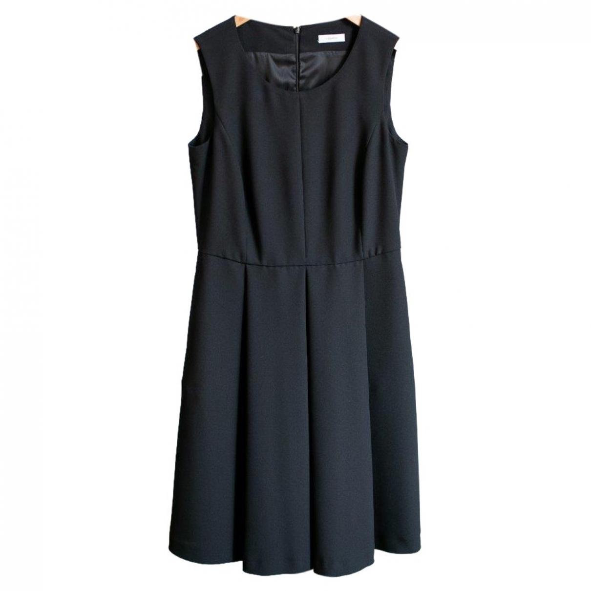 Cappellini \N Kleid in  Schwarz Polyester