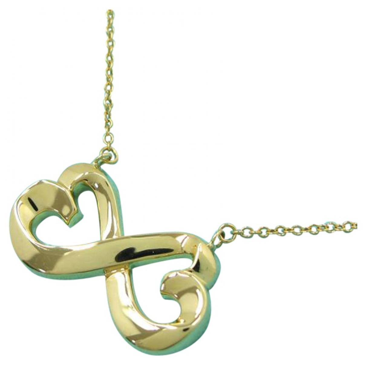 Tiffany & Co - Collier   pour femme en or blanc