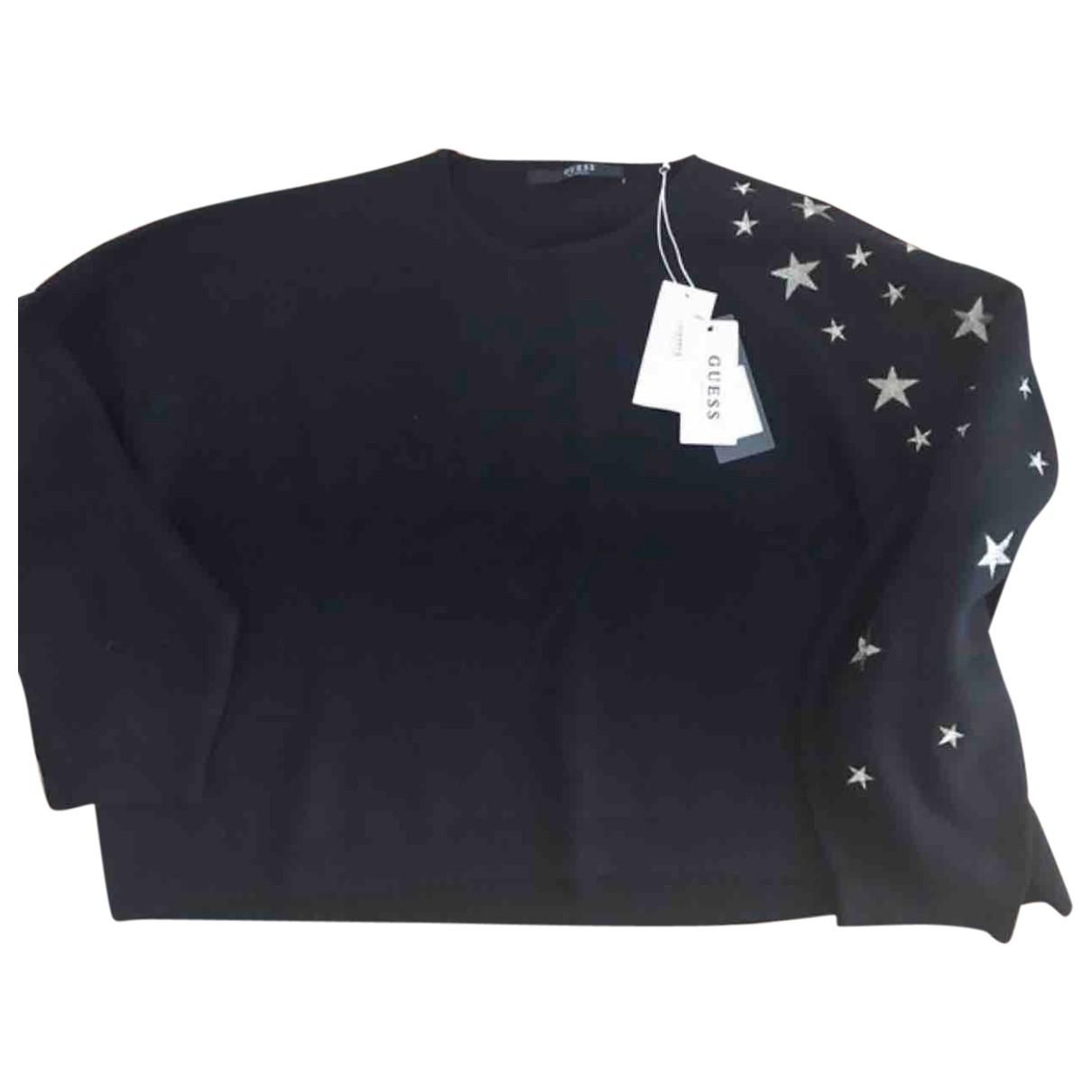 Guess \N Black Cotton Knitwear for Women 36 FR