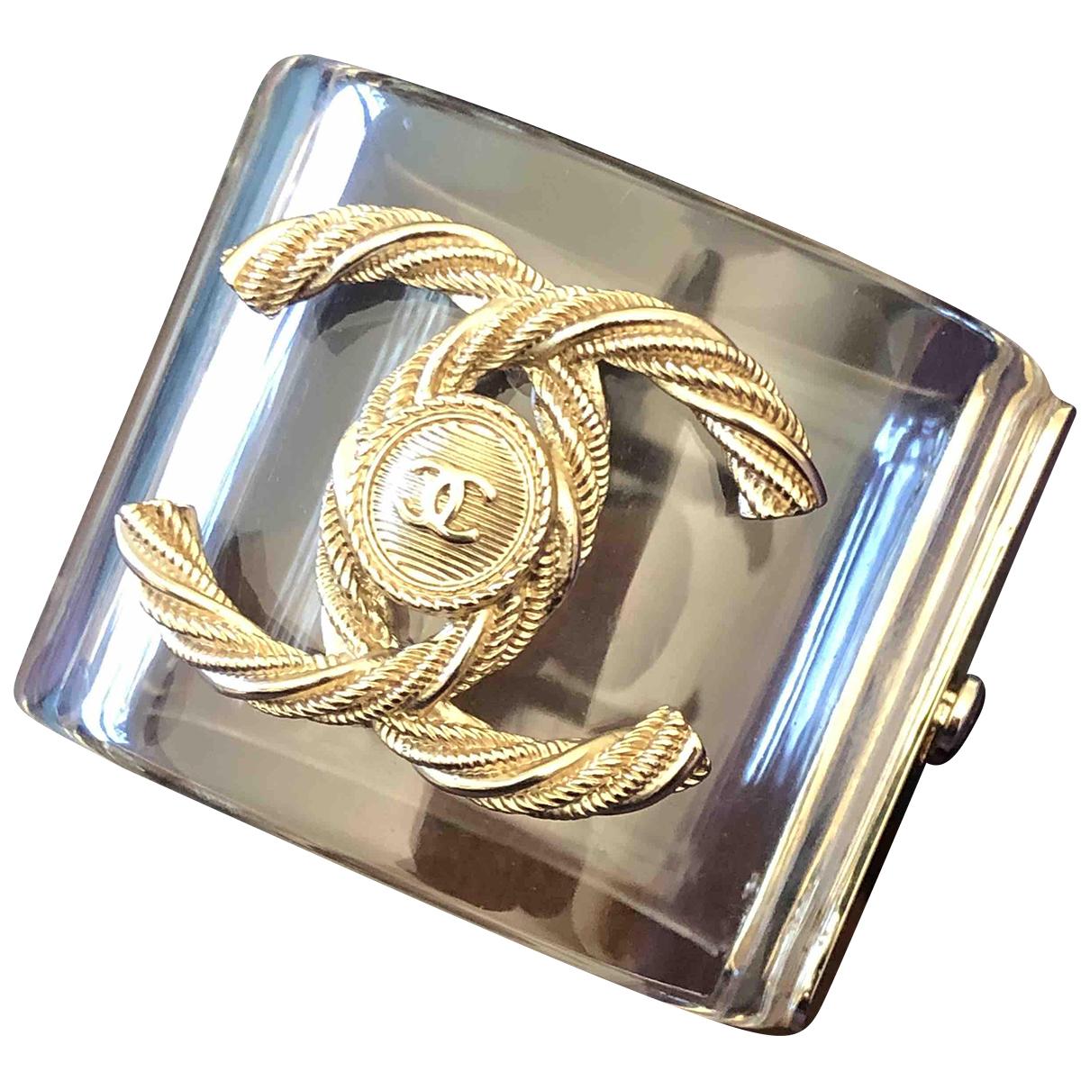 Chanel - Bracelet   pour femme - blanc