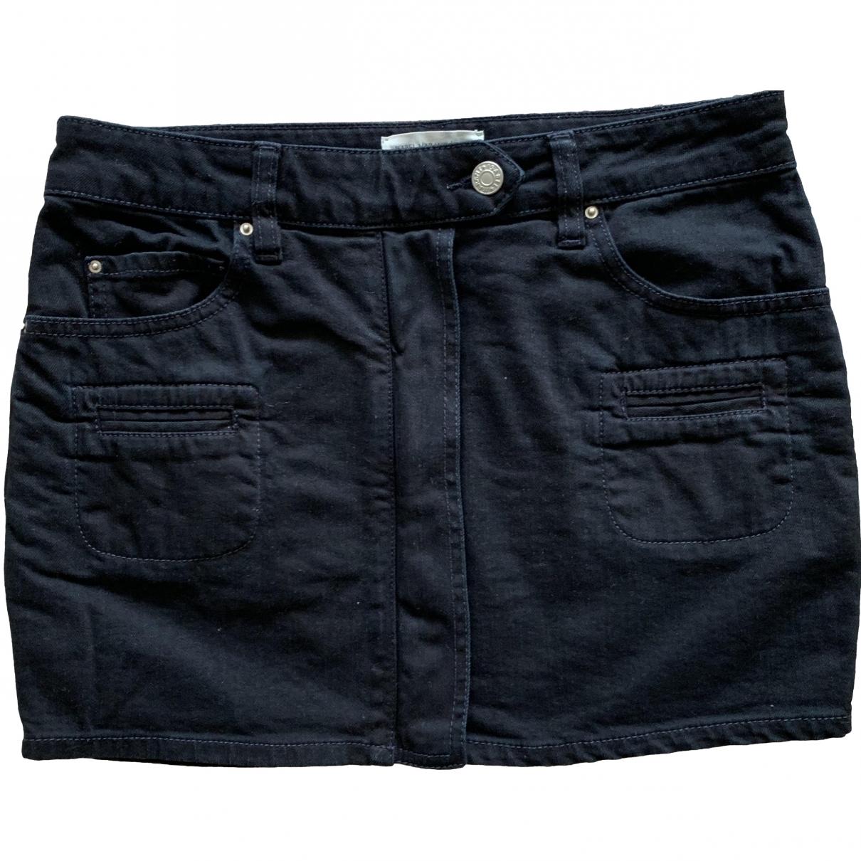 Isabel Marant Etoile \N Black Cotton skirt for Women 38 FR