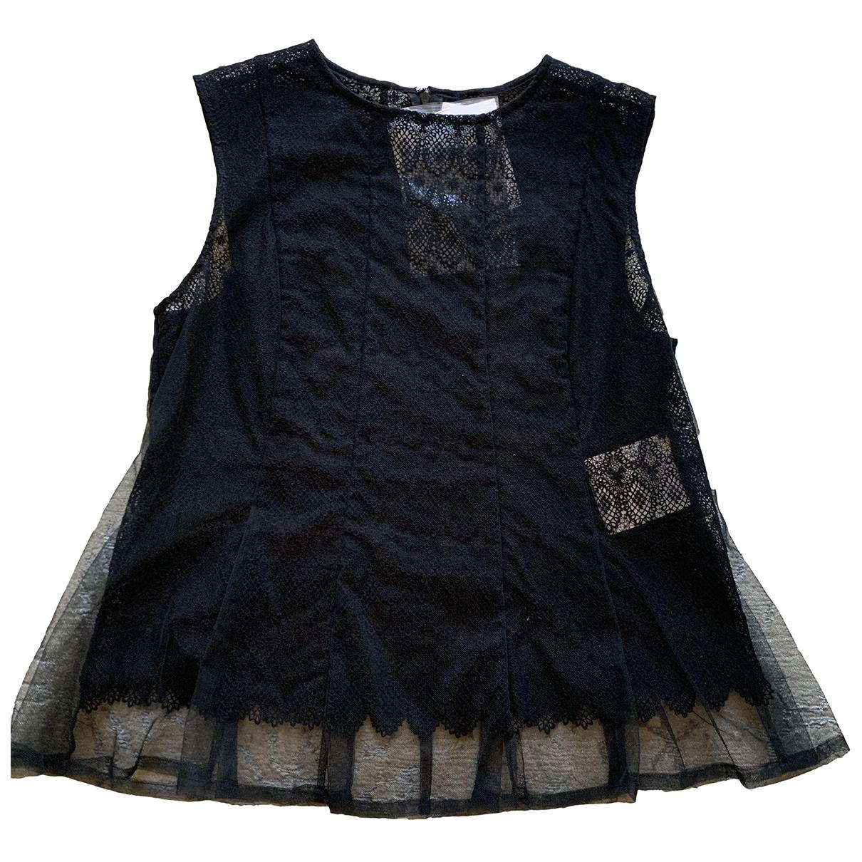 Noir Kei Ninomiya \N Top in  Schwarz Baumwolle