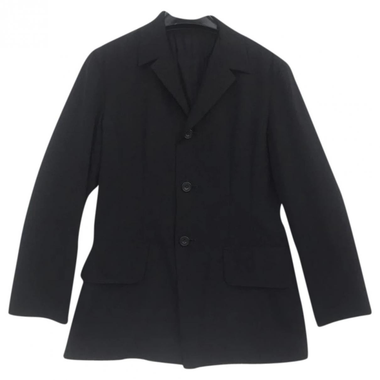 Yohji Yamamoto - Vestes.Blousons   pour homme en laine - noir