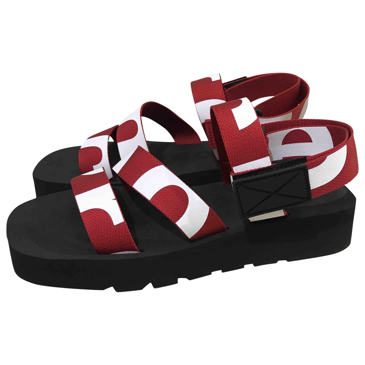 Proenza Schouler \N Sandalen in  Rot Polyester