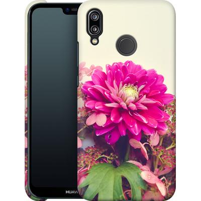 Huawei P20 Lite Smartphone Huelle - Pink Dahlia 2 von Joy StClaire