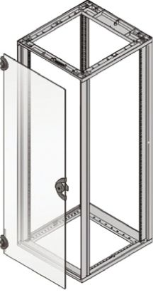 nVent – Schroff Door Door for use with NOVASTAR 19-Inch Cabinet, 12U