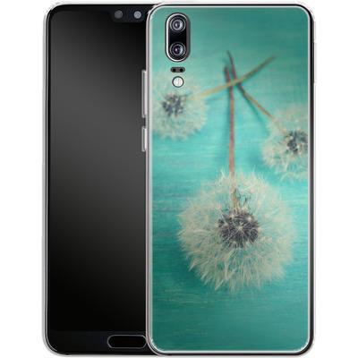 Huawei P20 Silikon Handyhuelle - Three Wishes von Joy StClaire