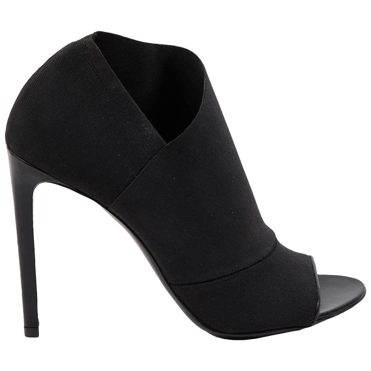 Balenciaga - Escarpins   pour femme en toile - noir