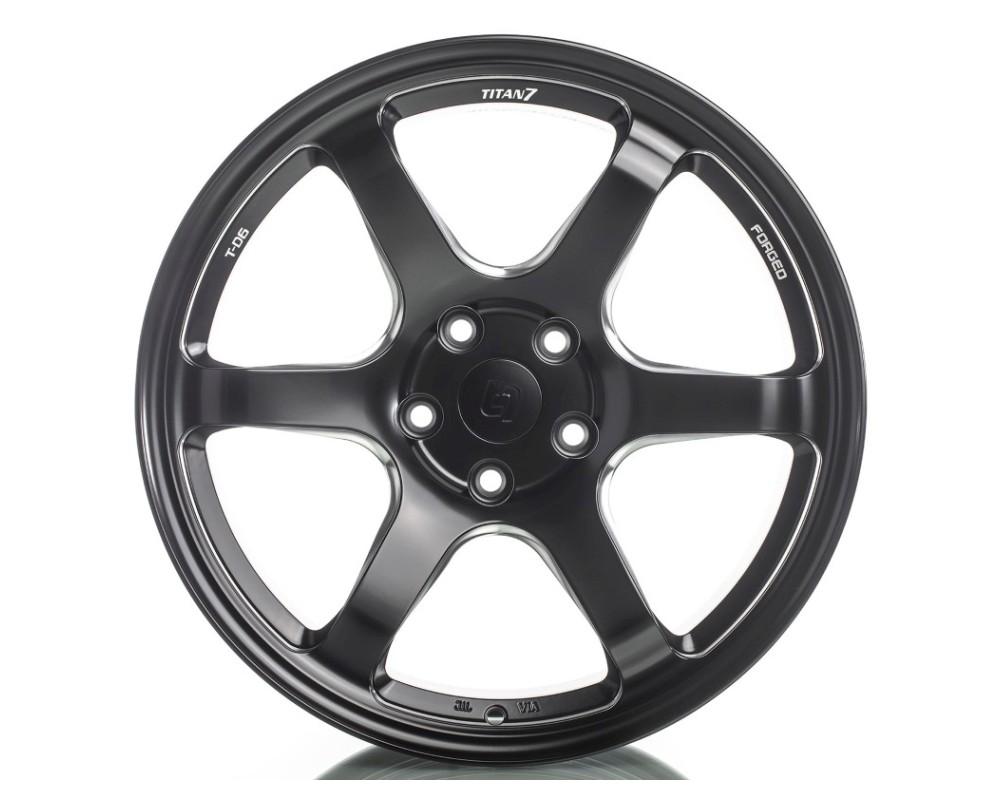 Titan 7 TD601995035511266MB T-D6 Wheel 19x9.5 5x112 35mm Machine Black