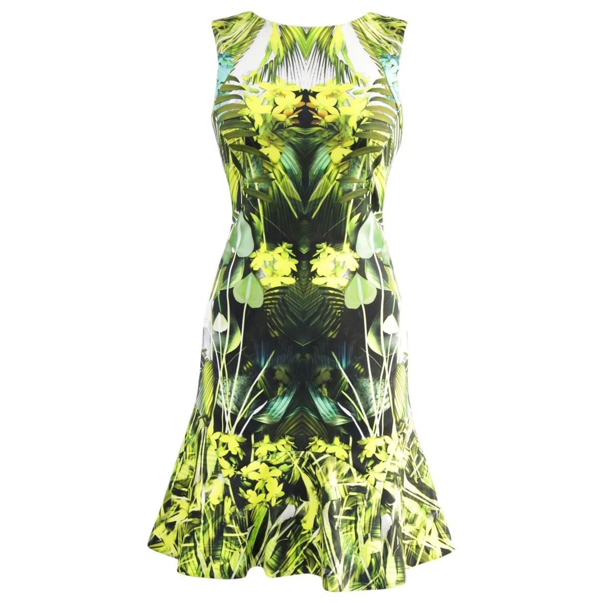 Karen Millen \N Kleid in  Gruen Polyester