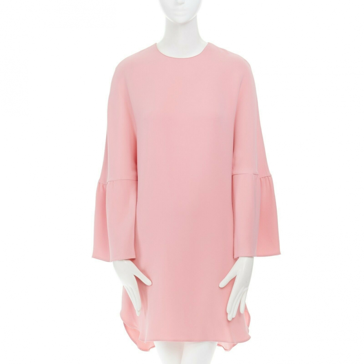 Valentino Garavani \N Kleid in  Rosa Seide