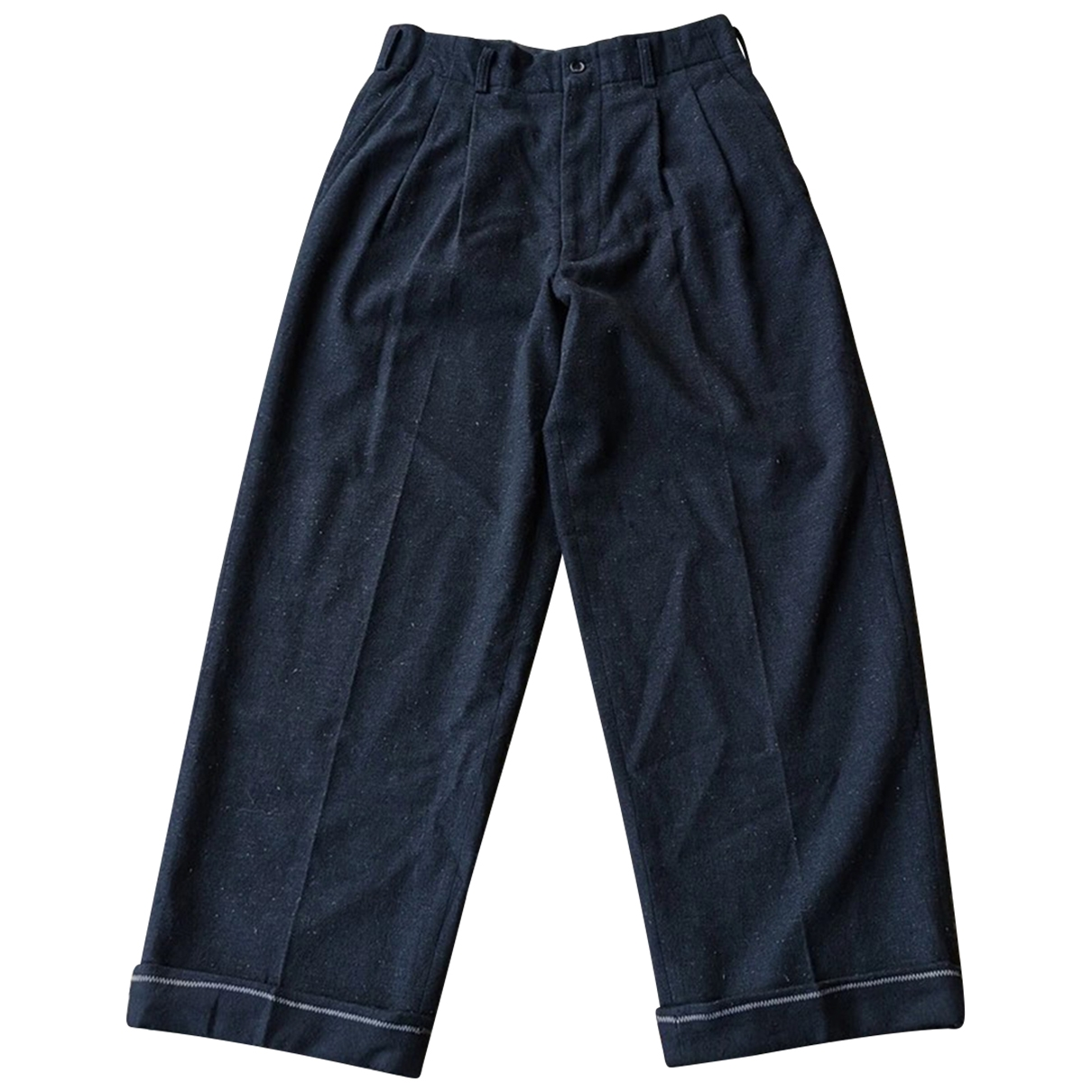 Comme Des Garcons \N Black Wool Trousers for Men S International