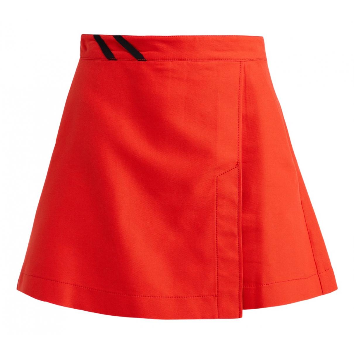 Pinko \N Shorts in  Rot Baumwolle