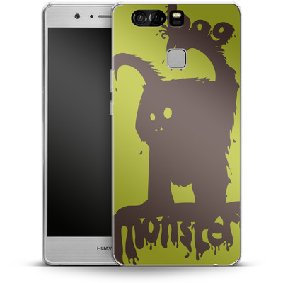 Huawei P9 Silikon Handyhuelle - Boo Monster von caseable Designs
