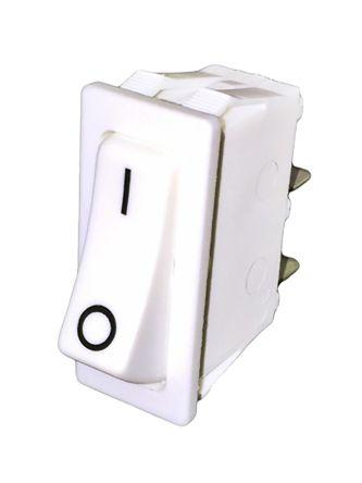 Molveno Single Pole Single Throw (SPST), On-None-Off Rocker Switch Panel Mount