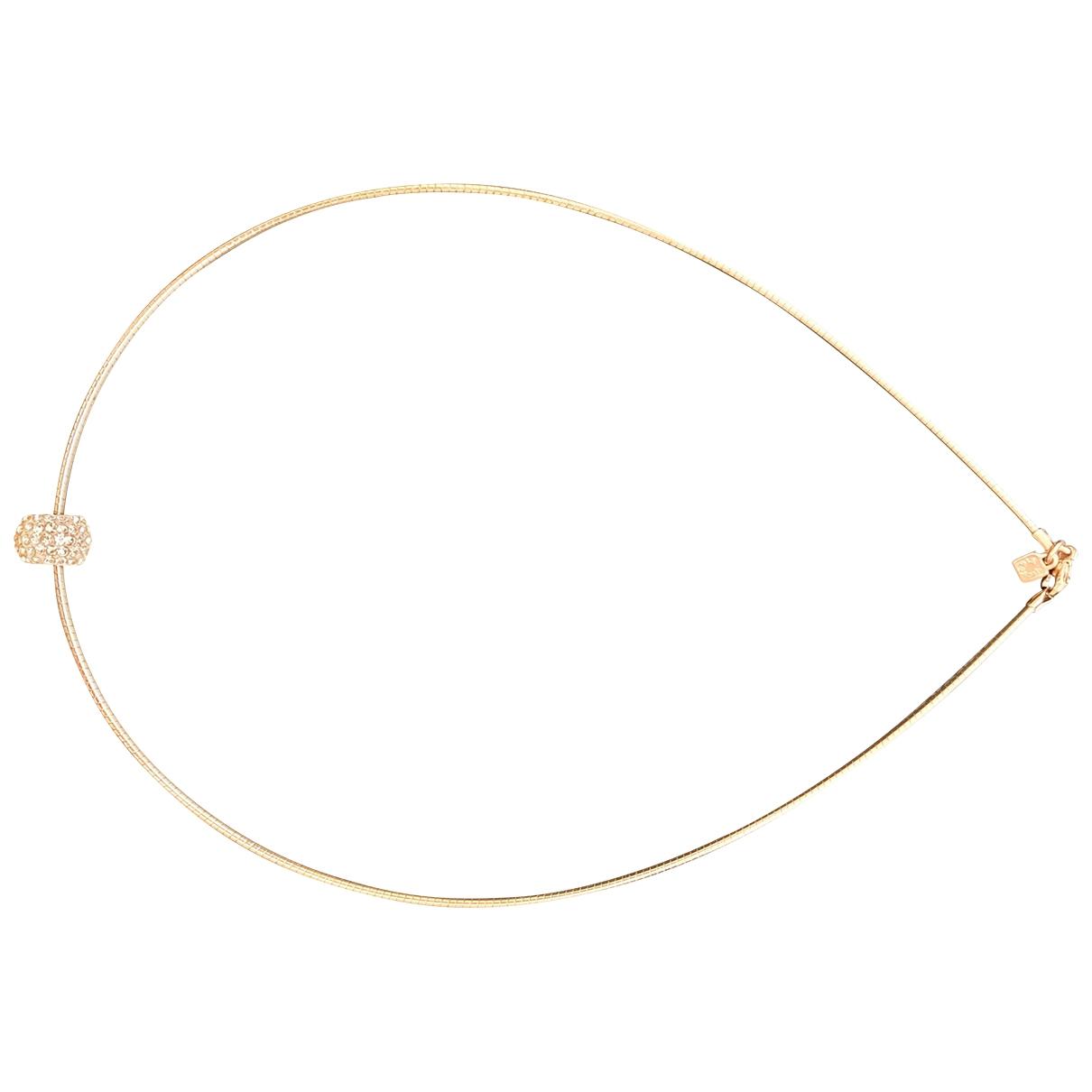 - Collier   pour femme en or et acier - rose