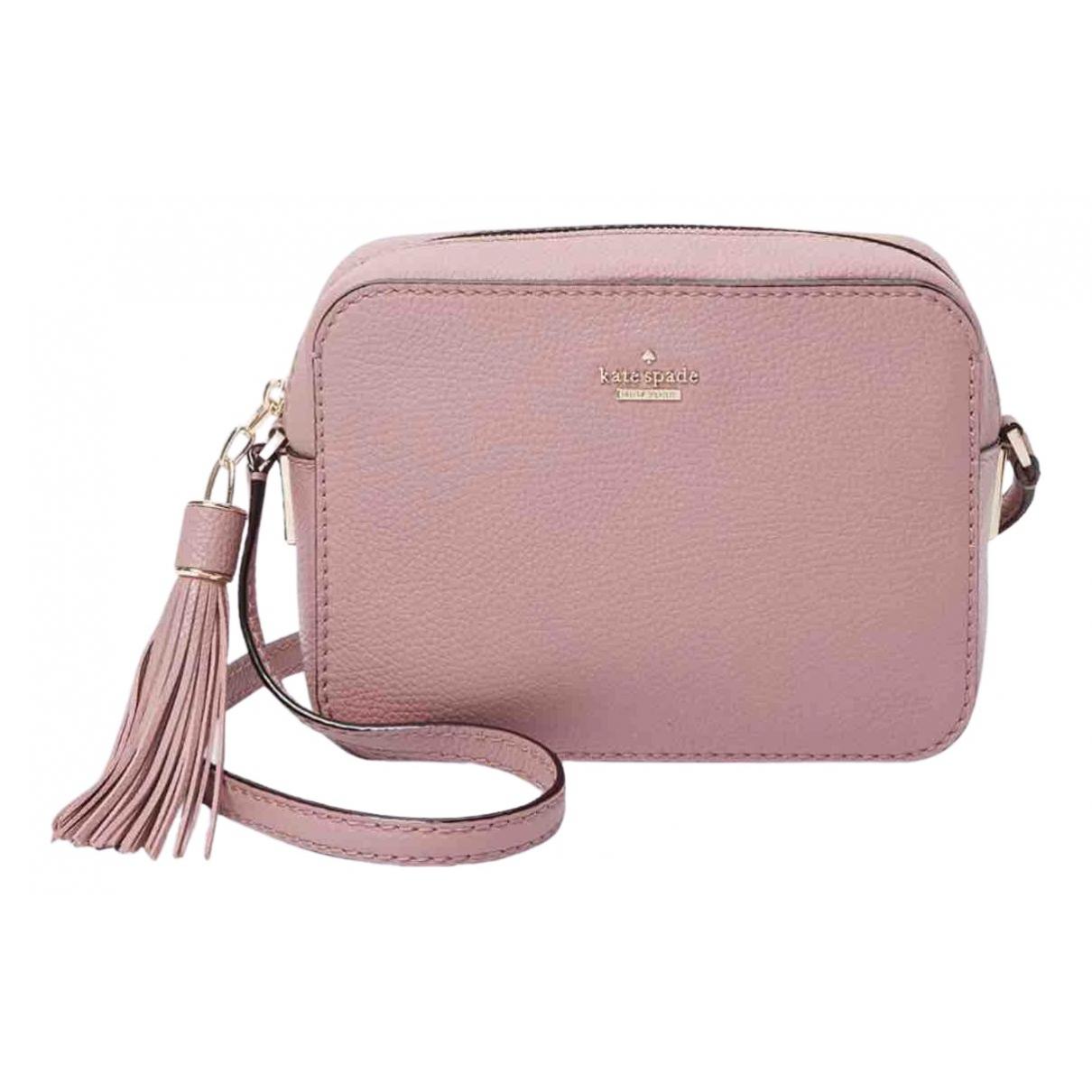 Kate Spade \N Pink Leather handbag for Women \N