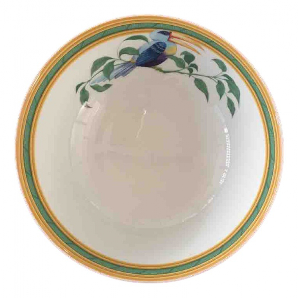 Hermes - Arts de la table Toucans pour lifestyle en porcelaine - blanc