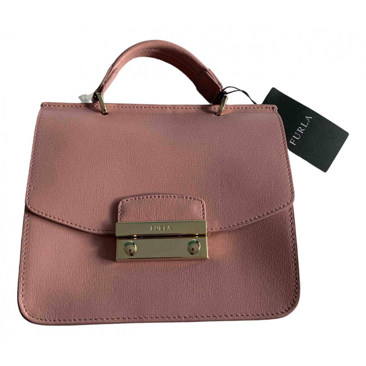 Furla N Pink Leather handbag for Women N