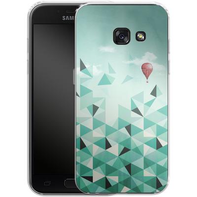 Samsung Galaxy A3 (2017) Silikon Handyhuelle - Emerald City von Little Clyde