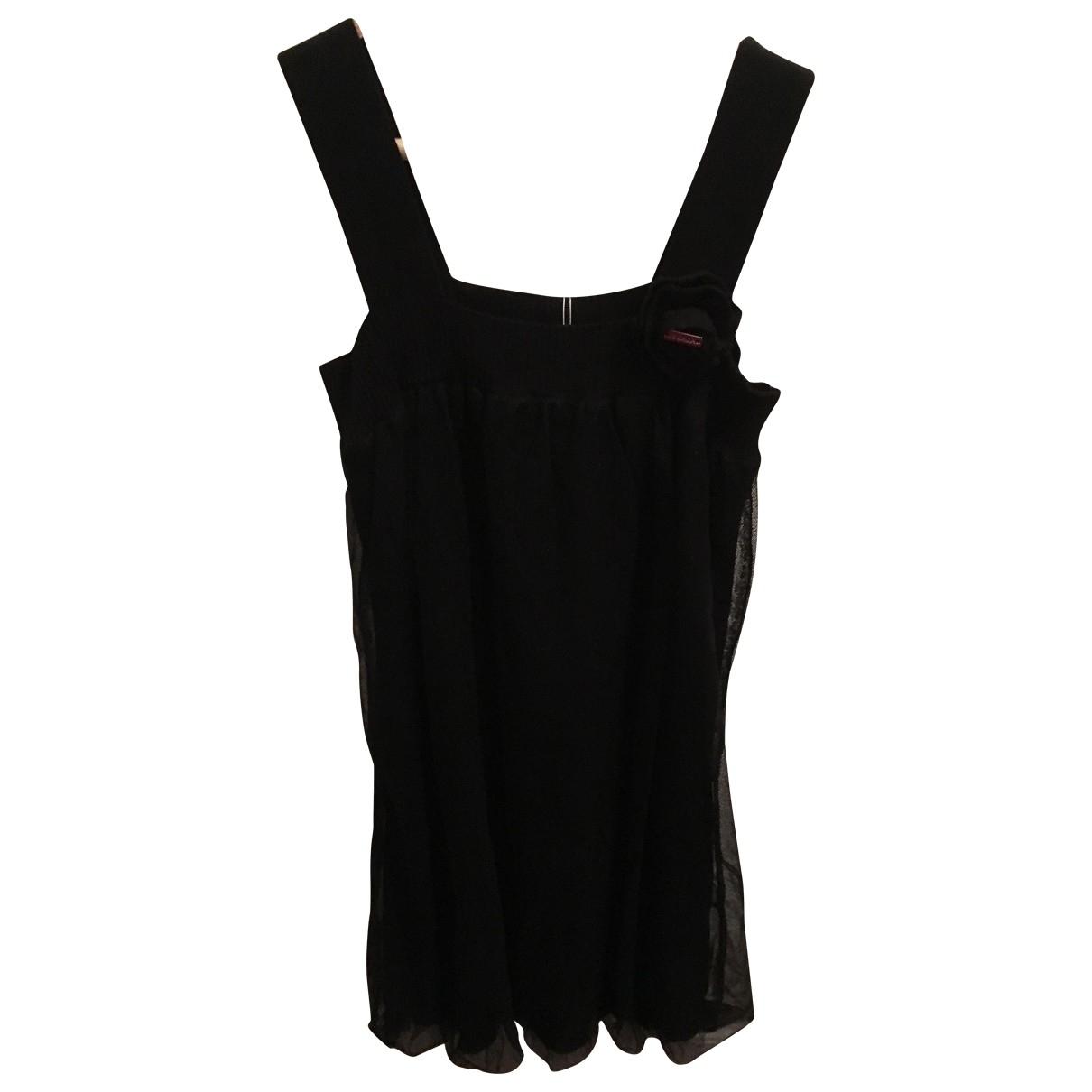 Escada - Robe    pour enfant en coton - noir