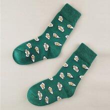 Toddler Kids Egg Pattern Socks