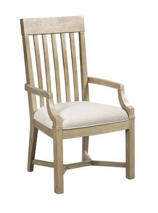 Litchfield Collection 750-637D JAMES ARM CHAIR DRIFTWOOD in Sun Washed and