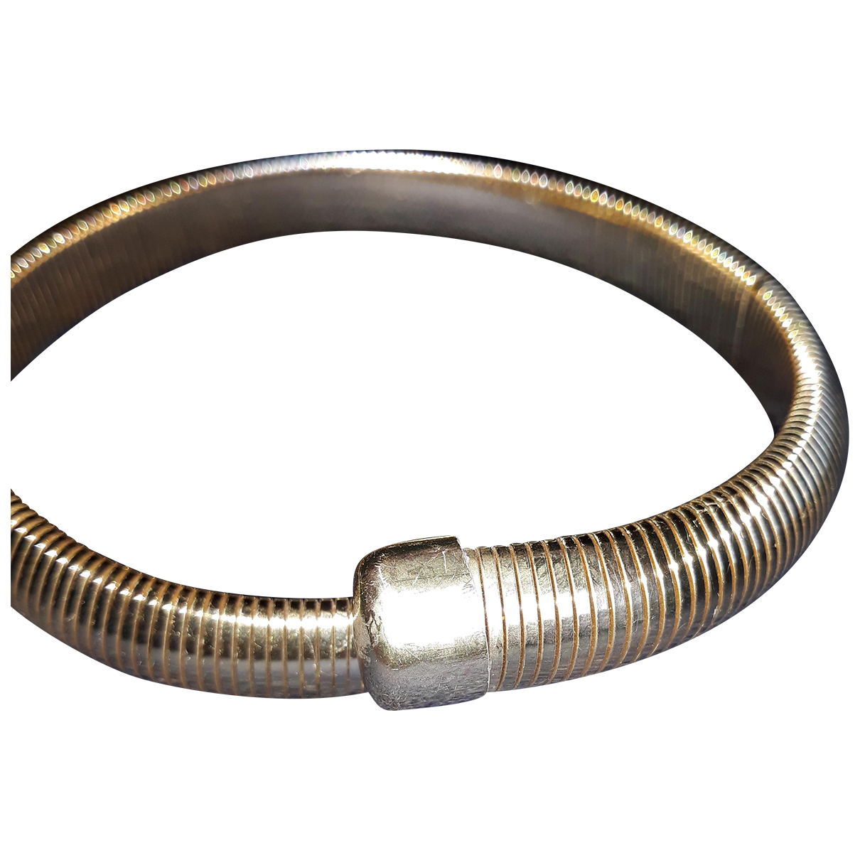 - Collier   pour femme en metal - dore
