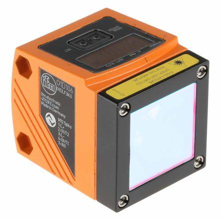 ifm electronic Distance Sensor Background Suppression 1 → 75 m Detection Range PNP