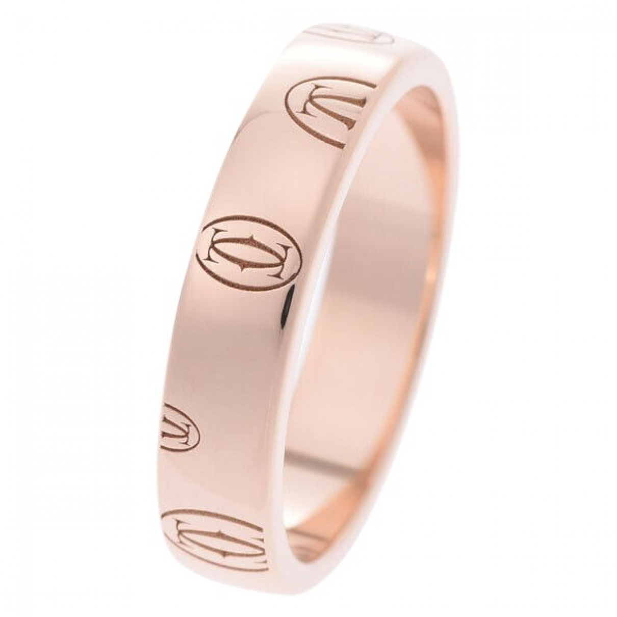 Cartier \N Ring in  Gold Rosegold