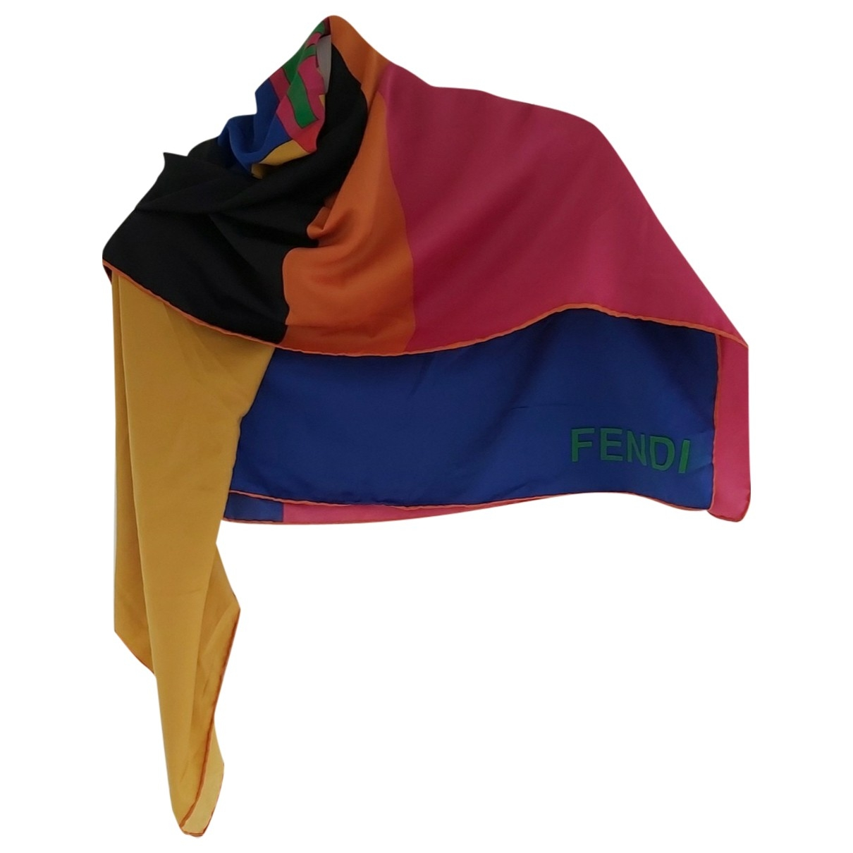 Fendi \N Multicolour Silk scarf for Women \N