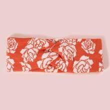 Stirnband mit Rose Muster