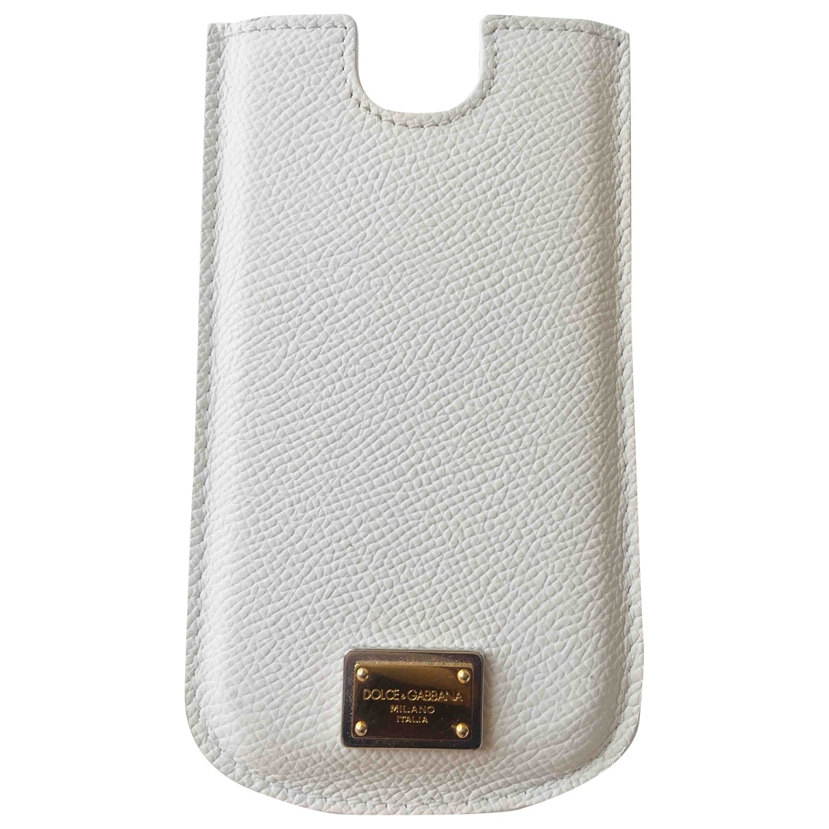 Dolce & Gabbana \N White Leather Purses, wallet & cases for Women \N