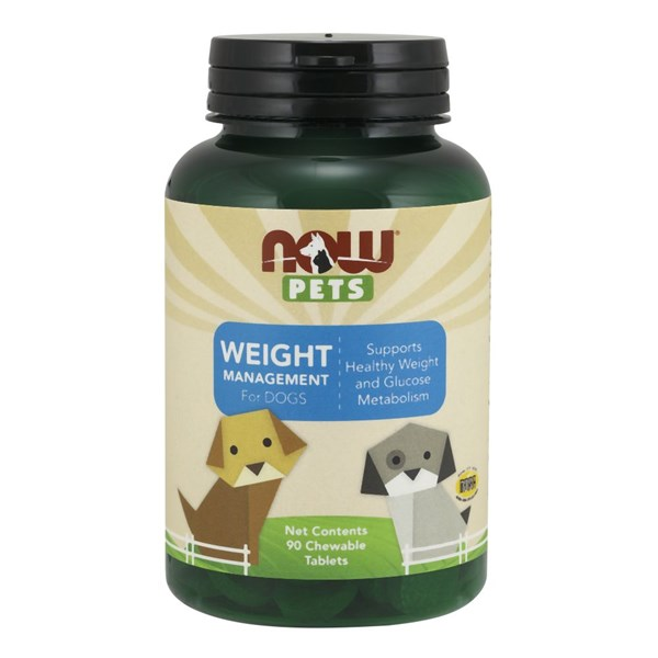 Pet Weight Management 90 Chewable Tabs by Now Foods