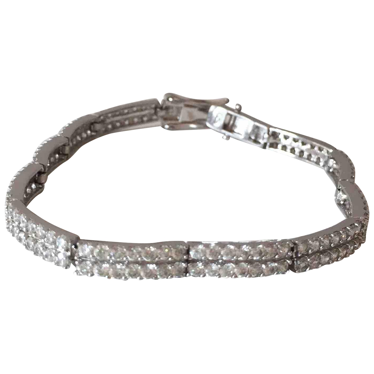 Non Signé / Unsigned Tennis Silver Silver bracelet for Women \N