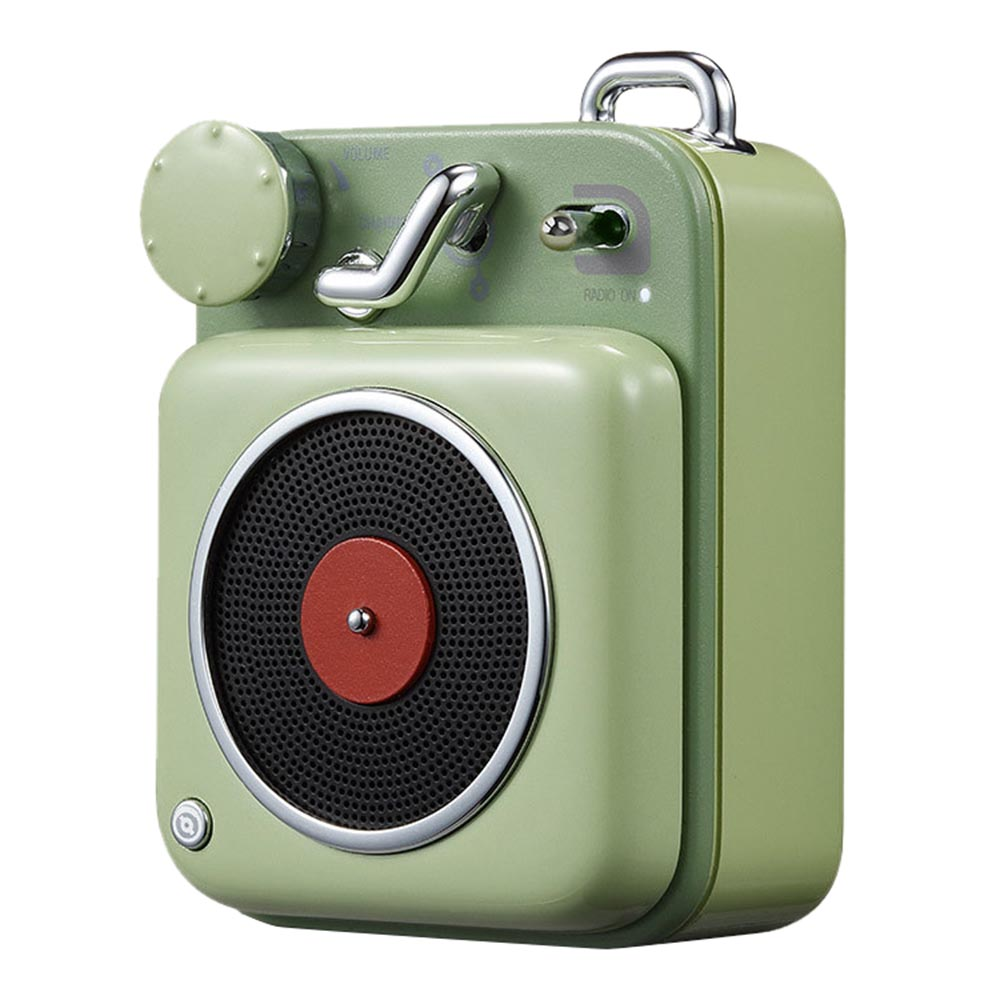 Xiaomi B612 Atomic Record Player Retro Compact Bluetooth Smart Audio Portable Speaker - Green